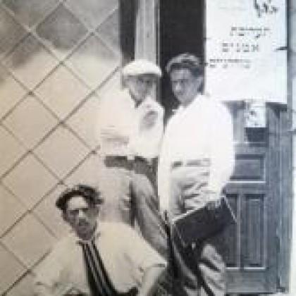 """תערוכת """"אמנים מודרנים"""" בצריף ה """"אהל"""" – 1926"""